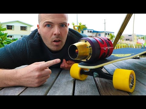 Jet-Powered Skateboard (Part 1)