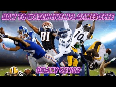 How To Watch NFL Games Live HD For Free! (iOS, IPhone, Android) On Any Device! No Ads! No Kodi!