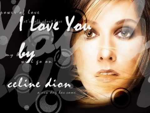 I love you celine dion mp3 song free download