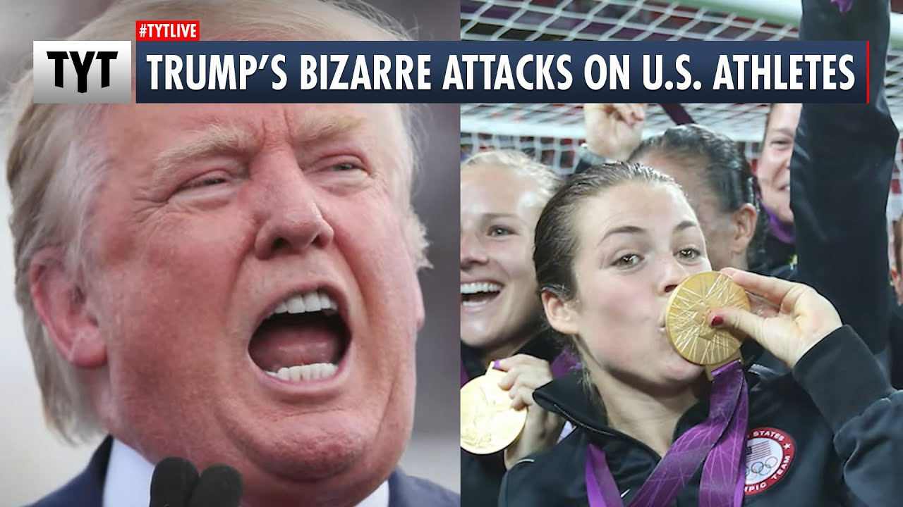 Trump Leads MAGA To Root Against U.S. Athletes