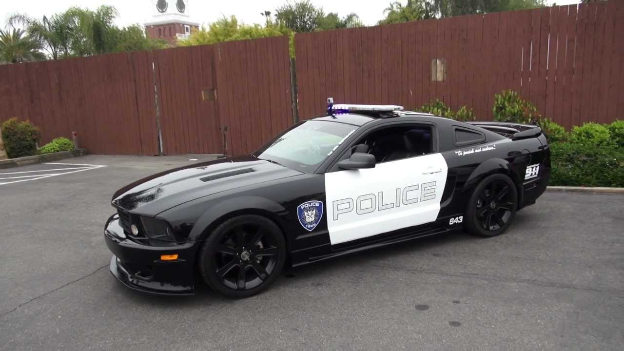 Decepticon Barricade Saleen S281 Mustang At 2012 Fabulous