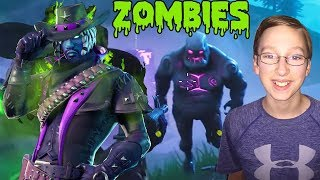 ZOMBIE ATTACK! QUAD CRUSHER Deadfire Skin FORTNITE Battle Royale | CollinTV Gaming