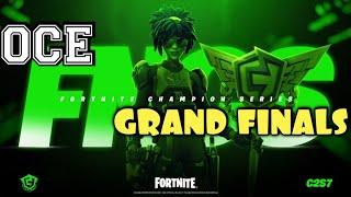 OCE FNCS GRAND FINALS! - FORTNITE CHAPTER 2 SEASON 7