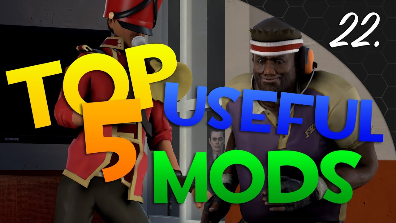 TF2: Top 5 Most Useful Mods!