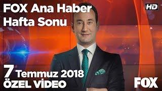 ODTÜ'lü eylemcilere gözaltı! 7 Temmuz 2018  FOX Ana Haber Hafta Sonu
