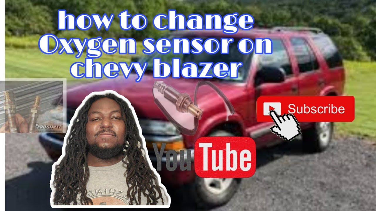 How to change oxygen sensor on a 2001 Chevy blazer  YouTube