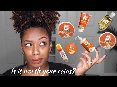 Product Review | Creme of Nature Coconut Milk Line | LenaLoveCurls