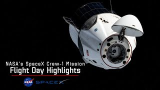 NASA's SpaceX Crew-1 Flight Day Highlights