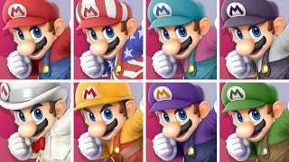 All Character Colors in Super Smash Bros Ultimate