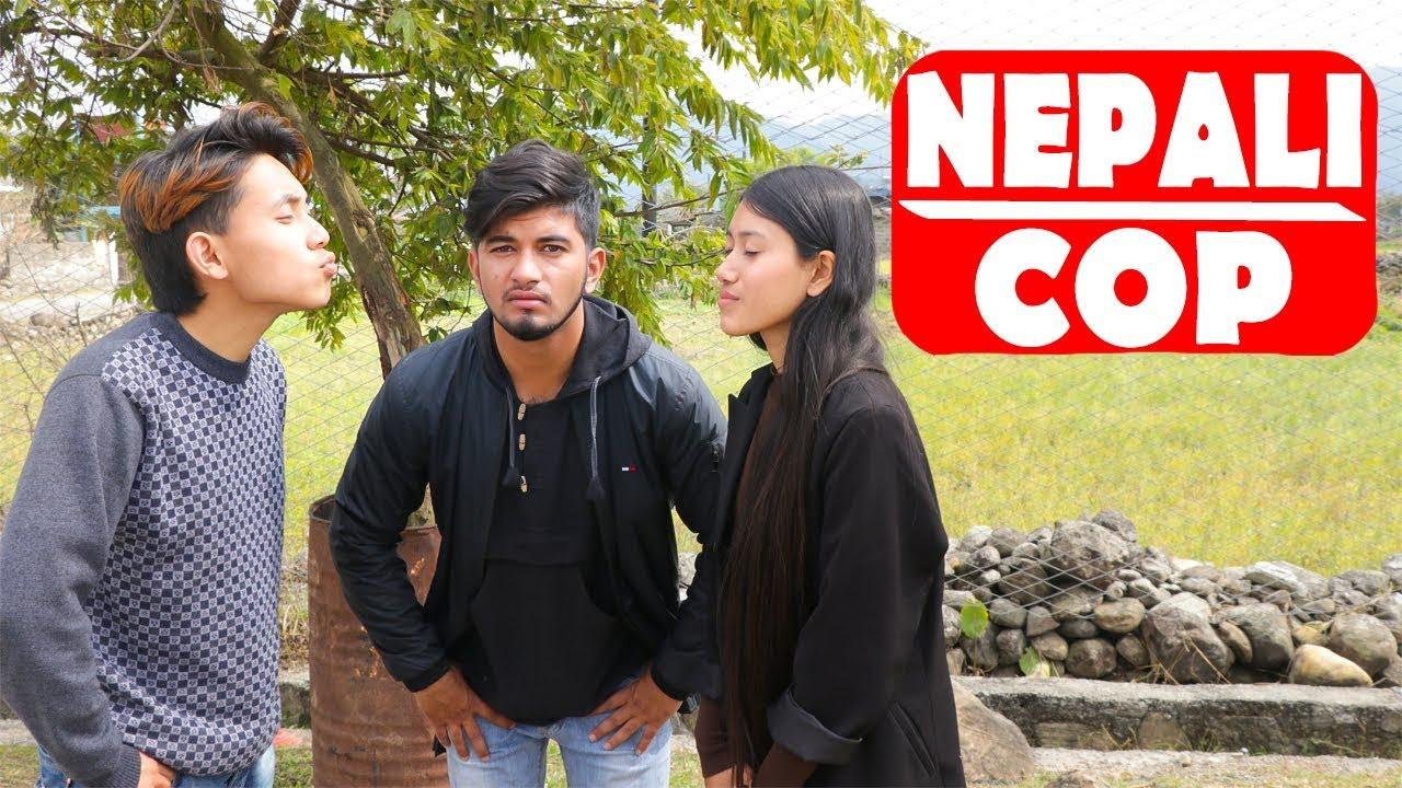 Nepali Cop  Modern Love  Nepali Comedy Short Film SNS Entertainment