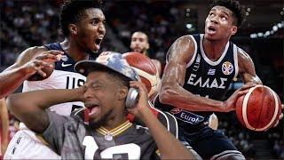 USA vs Greece Full Game Highlights! 2019 FIBA World Cup USA Basketball