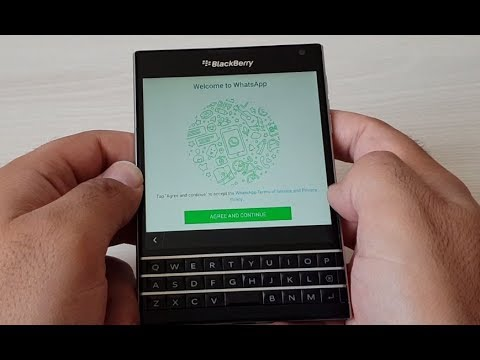 How to install Whatsapp on Blackberry passport? - Easy!