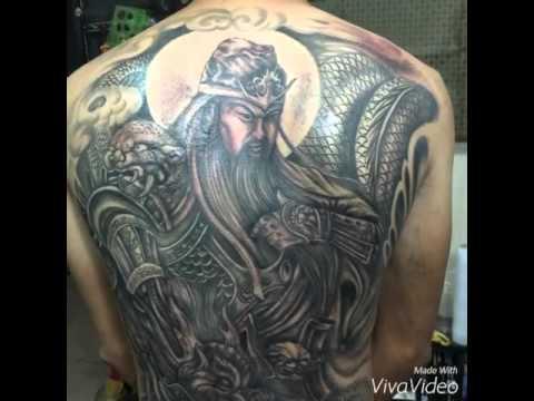 Hình xăm quan công , tattoo , xăm hình nghệ thuật , Trí tattoo.0908661917