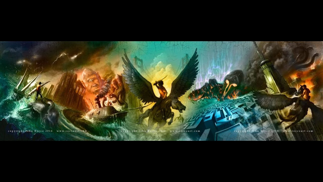 Percy Jackson and the Olympians books 1-5 box set unboxing video ...