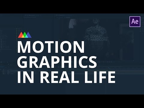 Motion Graphics in Real Life