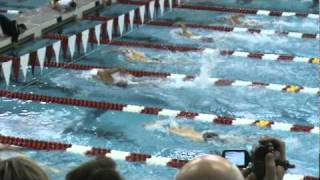 500 yards freestyle 2010 Men's Swimming Big Ten Championships