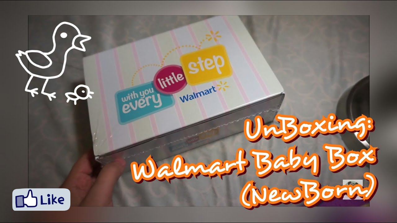 Unboxing: Walmart Baby Box (NEWBORN) - YouTube