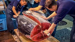 Рыбный Рынок в Японии. Обед Экономного Туриста. Хиросима