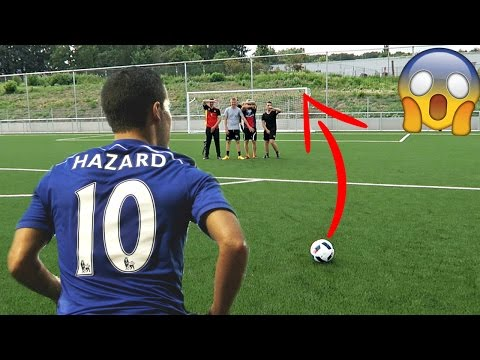 EDEN HAZARD INSANE SKILL IN REAL LIFE FOOTBALL!! BEST GOALS RECREATED #18