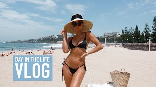 DAY IN THE LIFE - Beach, sauna and shopping! Follow me around vlog.