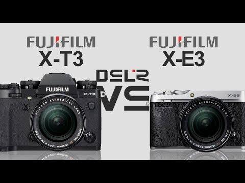 FujiFilm X-T3 vs FujiFilm X-E3