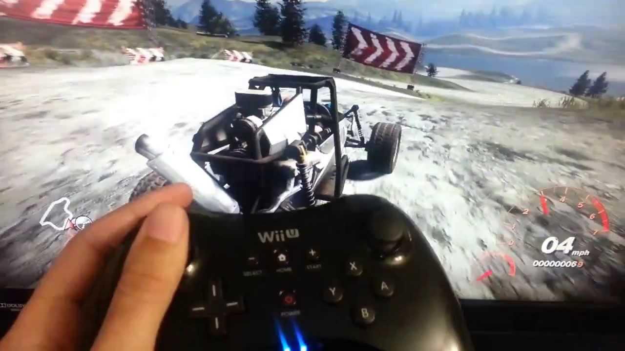 WiinUPro - Wii U Pro controller on Windows 7 Test