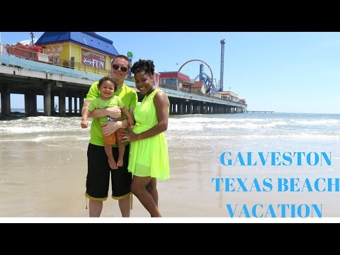 VLOG: GALVESTON TEXAS BEACH VACATION