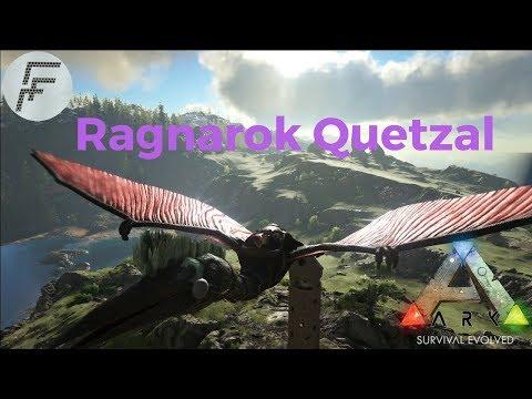 ARK: Survival Evolved Ragnarok Quetzal