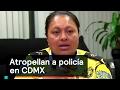 Atropellan a policía en CDMX - CDMX - Denise Maerker 10 en punto