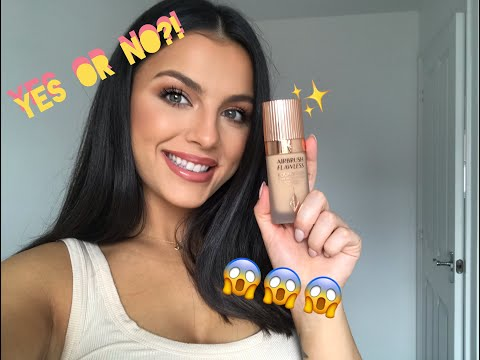 Charlotte Tilbury Airbrush Flawless Foundation | Review & Demo thumbnail