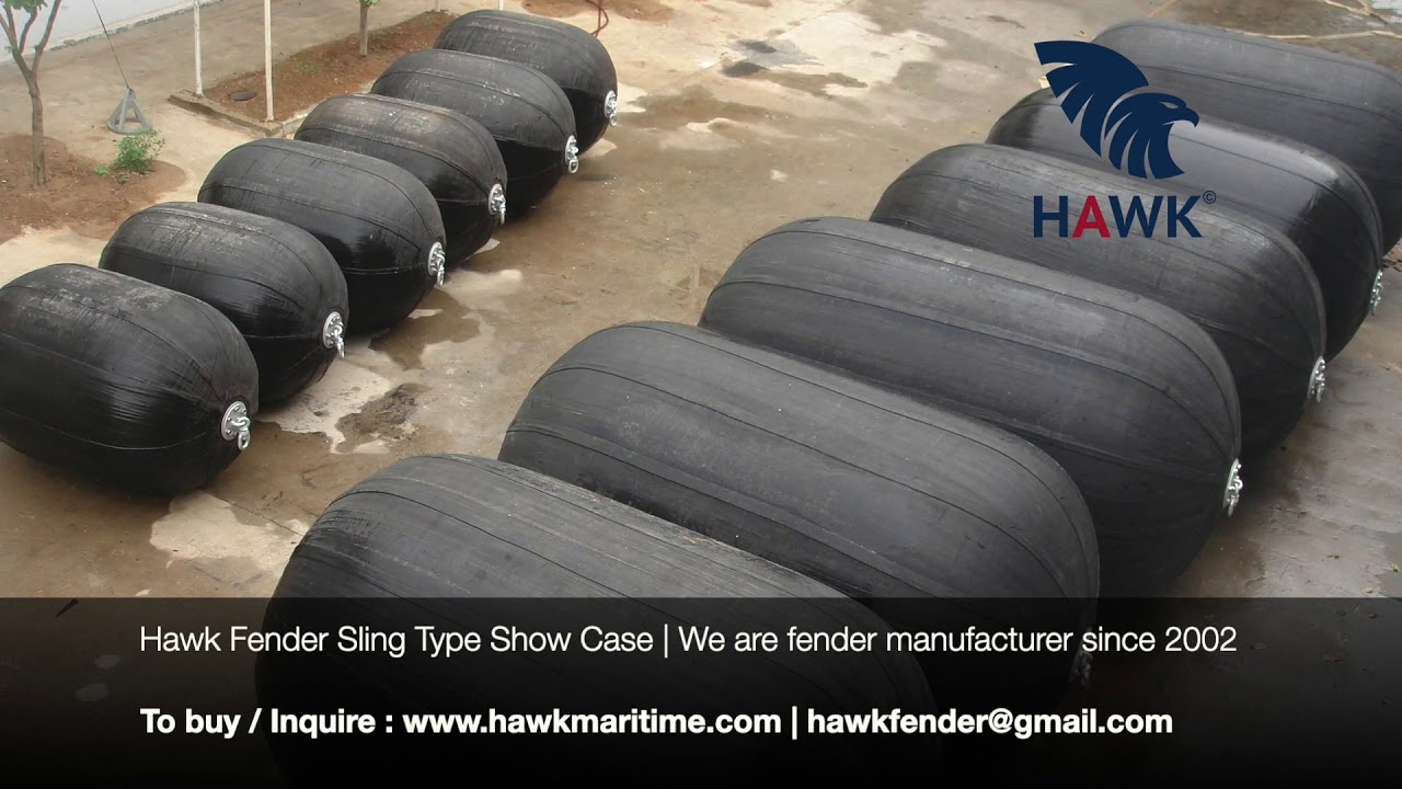 Hawk  Fender | Pneumatic Rubber Fender | Sling Type