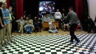 Плаксина Катя vs Ковалев Андрей   Popping Juniors FINAL   Реакция 2014
