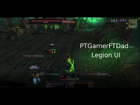 Review: My World of Warcraft Legion UI setup and addons!
