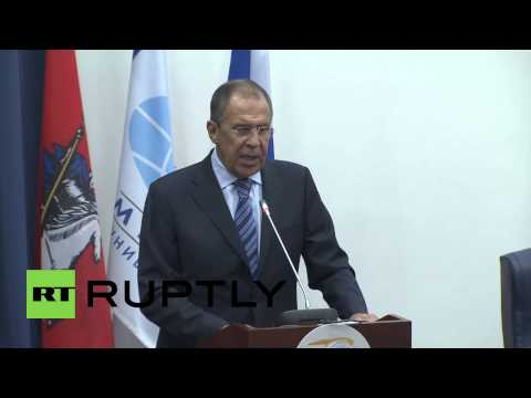 "Russia: EU's stance on Ukraine ""a terrible mistake""- Lavrov"