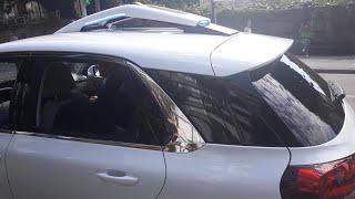 Prueba de conducción en ciudad del vehículo autónomo