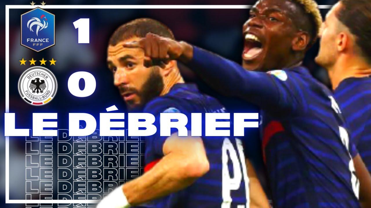 🇫🇷 France 1-0 Allemagne : Pogba lance l'Euro de l'équipe de France
