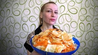 Вкусный салат из свежей капусты по корейски рецепт Секрета приготовления