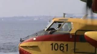 Spanish Water Bombers at work 2012