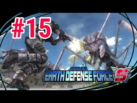 [Episode 15] Earth Defense Force 5 PS4 Gameplay [Reinvasion] thumbnail