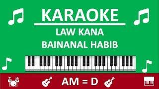 Download Mp3 Karaoke Law Kana Bainanal Habib - Nissa Sabyan - Nada Sedang  Am = D - By Sholaw