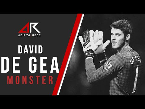 David De Gea - Monster by @aditya_reds