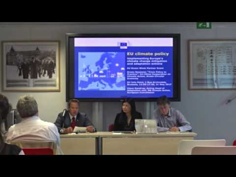 UN Environment at Green Session over EU-China Cooperation on Climate Action