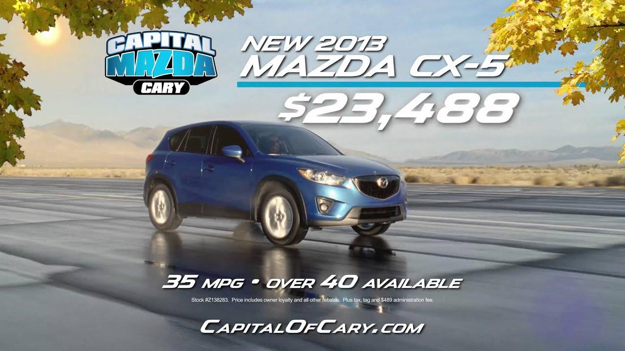 Capital Mazda   Rake In The Savings