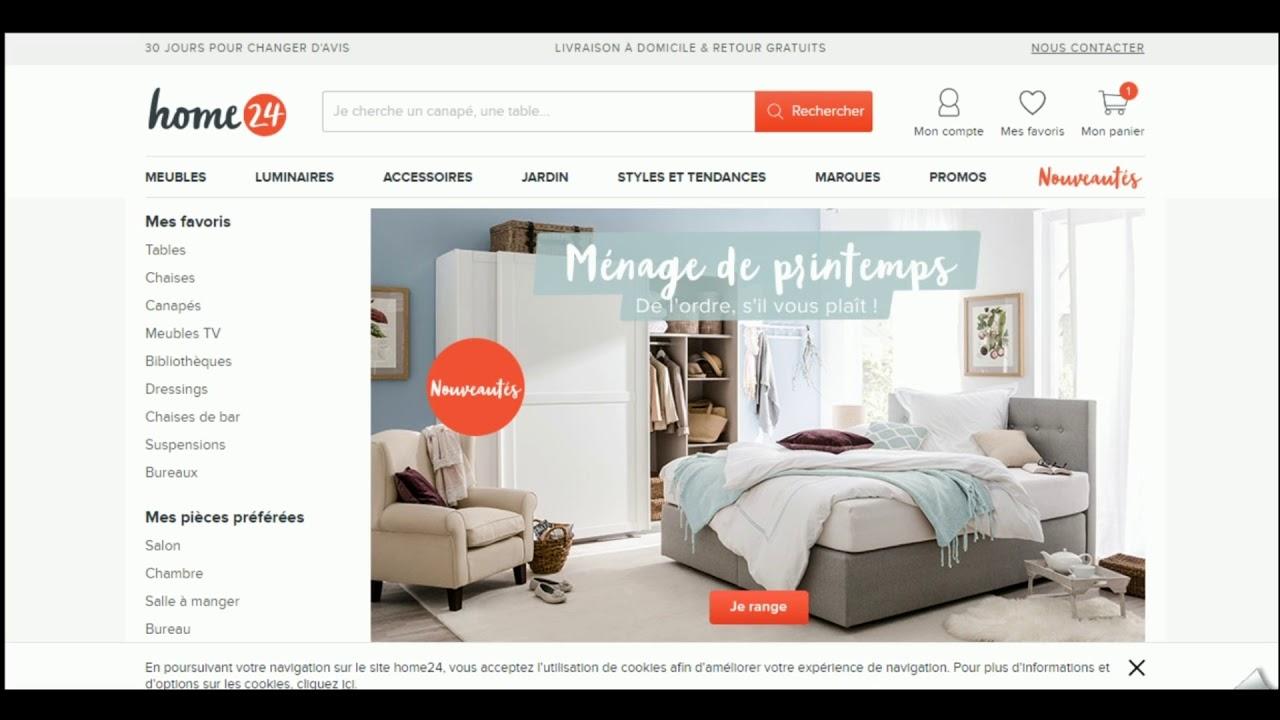 Avis Sur Le Site Home24 code promo home24 vérifié en vidéo