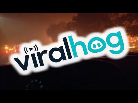 Santa Rosa Fires || ViralHog