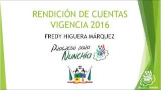 Rendición de Cuentas vigencia 2016 thumbnail