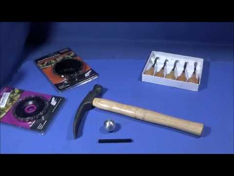 Making A Survival Wood Carving Adze.. A Brick Hammer Hack