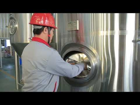 Stainless Steel Beer Fermenter & Brite Beer Tank SDETBREW BBT&Fermenter