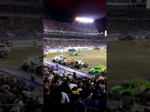 Zach's VIP SEATS FOR MONSTER JAM