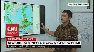 Download Video Alasan Indonesia Rawan Gempa, Ahli Geologi ITB: Kita tidak Bisa Prediksi, tapi Kita Bisa Belajar MP3 3GP MP4